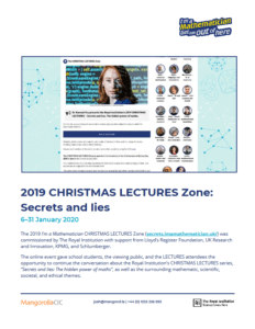 2019 CHRISTMAS LECTURES Zone Report Preview