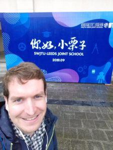 Me at SWJTU in China