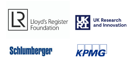 Lloyd's Register Roundation, UK Research and Innovation, Schlumberger and KPMG
